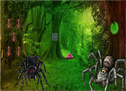 Giant Spider Forest Escape