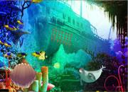 Underwater Moorish Idol Escape