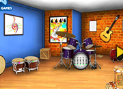 逃離音樂工作室