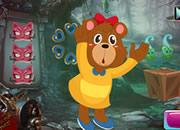可爱卡通熊逃脱-
