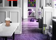 逃离宁静的紫色房间