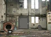 Abandoned Factory Wall Escape