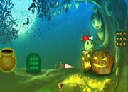 Halloween Pumpkin Girl Escape
