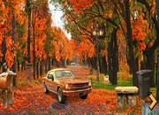 秋季城市公园逃脱1