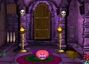 万圣节可怕的门逃脱