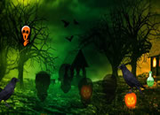 Halloween Crow Forest Escape