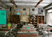 逃離廢棄的教室