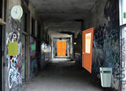 Abandoned School Hallway Escape