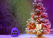 Fantasy Christmas Tree Forest Escape