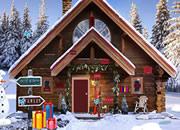 圣诞节山上房子逃离