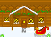 Snowy Village Escape