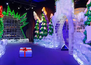 Christmas Ice Theme Park Escape