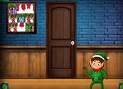 圣誕節藍色房間逃離