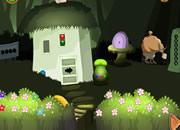 兔子逃離森林小屋