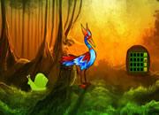 幻想白鹭森林逃离