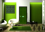 Green Modern House Escape