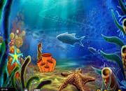 Fantasy Underwater Seahorse Escape