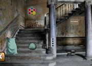 逃離廢棄的別墅