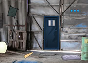 Abandoned Machinery Yard Escape