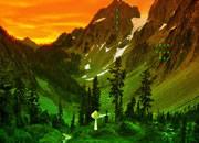 奇异的山林逃离
