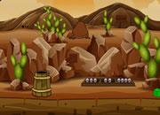 營救官員逃離沙漠