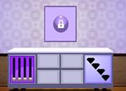 淡紫色房间逃脱