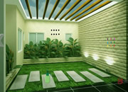 Tropical Indoor Garden Escape