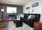 Gray Living Room Escape