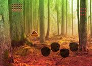 逃离危险撒旦森林