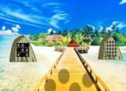 Summer Tropical Island Escape