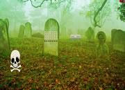 Skeleton Cemetery Land Escape