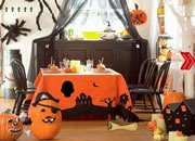 Glam Gold Halloween Home