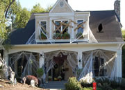 Spooky Town Halloween House