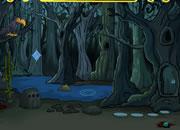 万圣节可怕的森林逃离