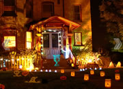 Cheap Haunted Halloween House