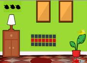 Small Green House Escape