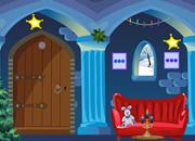 Christmas Blue House Escape
