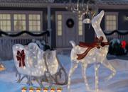 圣诞节院子逃离