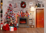 Wooden House Christmas Escape