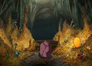 Honey Golden Cave Escape