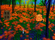 Magic Fantasy Flower Forest Escape
