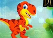 平静的恐龙逃脱-