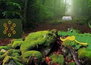 奇异鳄鱼森林逃脱