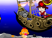 Monkey Go Happy:Valentines Day Pirate Battle