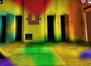 废弃的彩色房间逃离