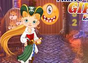Tawdry Pirate Girl Escape
