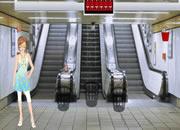 地铁站逃生-