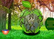 绿色森林果冻逃离