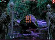 外星人神秘森林逃離
