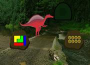 红恐龙森林逃离-